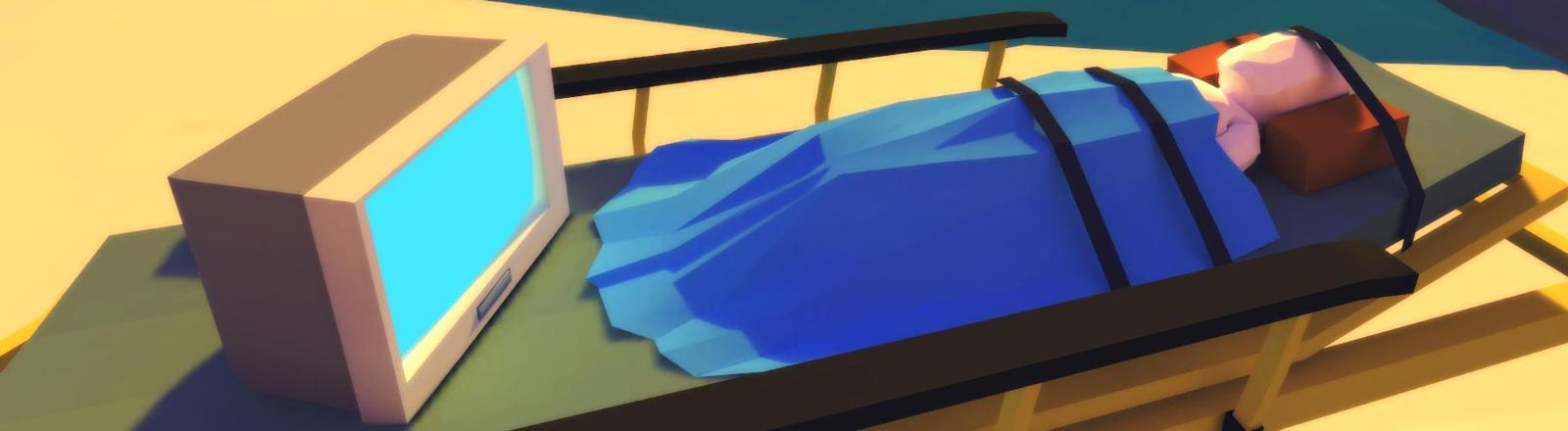 """Eine Szene aus dem Spiel """"That Dragon, Cancer""""."""