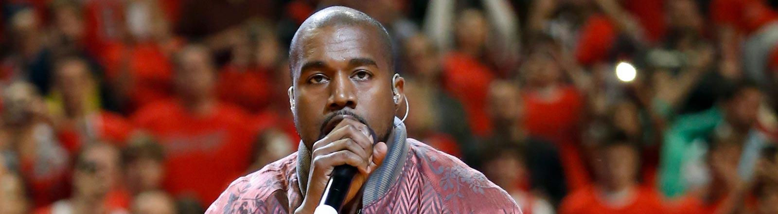 Musiker Kanye West.