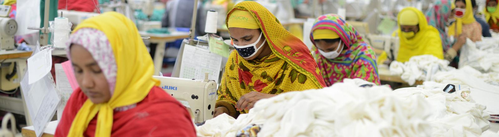 Textilfabrik Epyllion in Dhaka, Bangladesch.