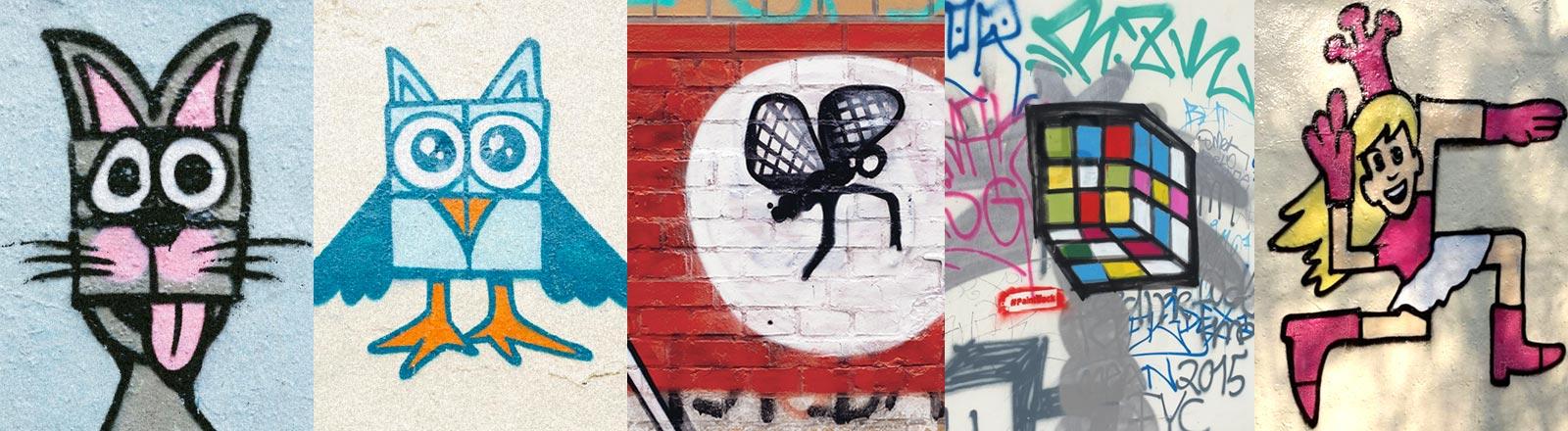 Ibo Omari hat die Inititative #paintback gegründet.