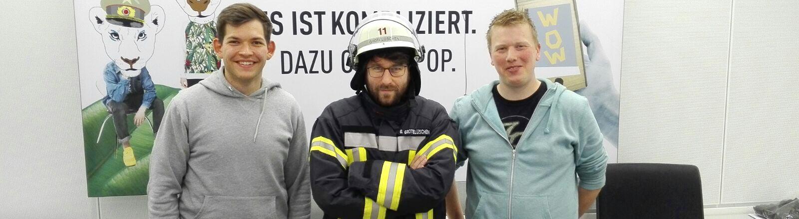 Michael Beßmann und Gerrit Grotelüschen