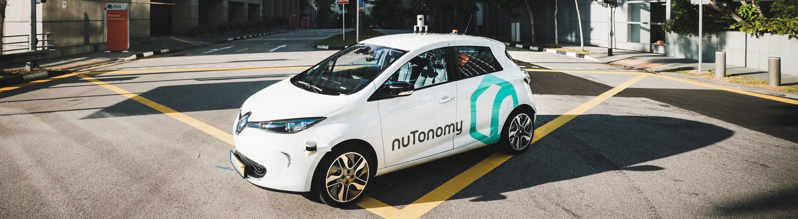 Selbstfahrendes Taxi von Nutonomy