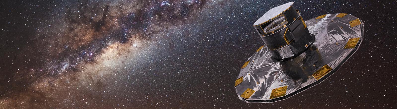 Gaia-Satellit vermisst Sterne in unserer Galaxie.