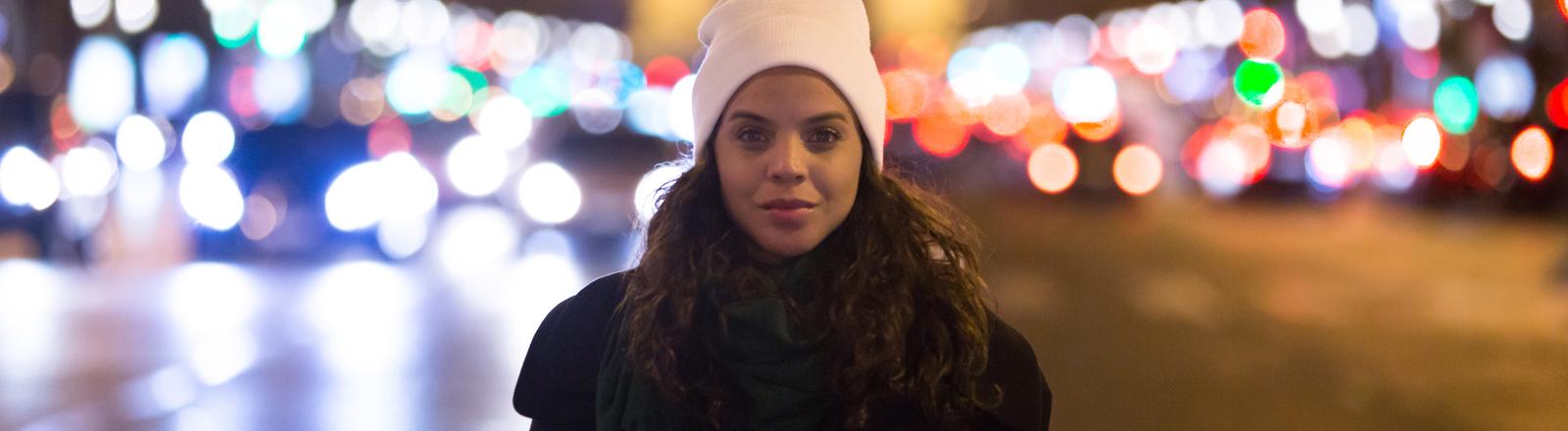 Frau in Paris.