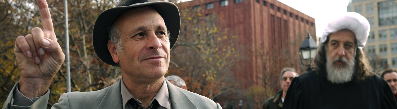 Der investigative Journalist und Autor Greg Palast