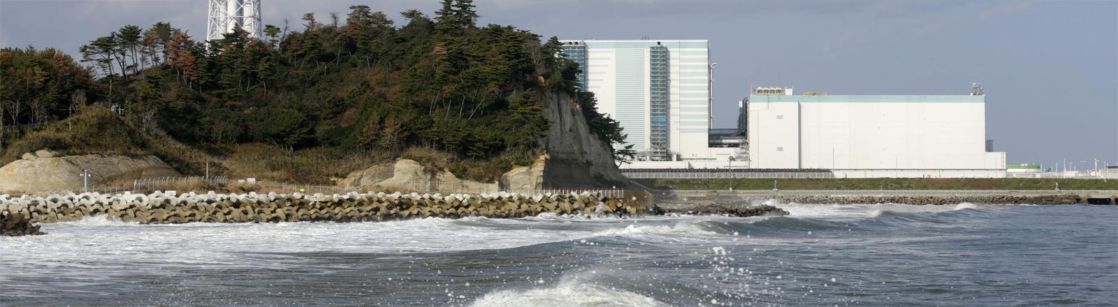 Der Reaktor Fukushima am Tag nach dem nachbeben am 22.11.2016.