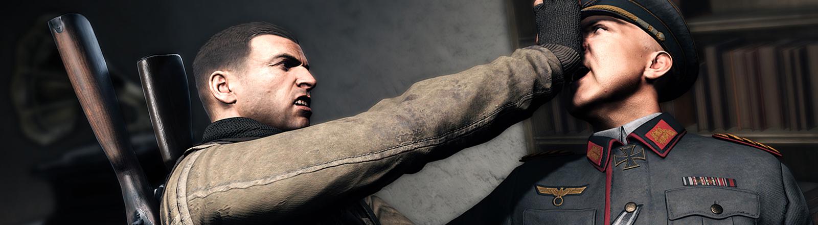 Eine Szene aus dem Computerspiel Sniper Elite 4.