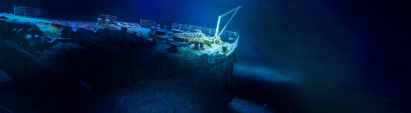 Wrack der Titanic.