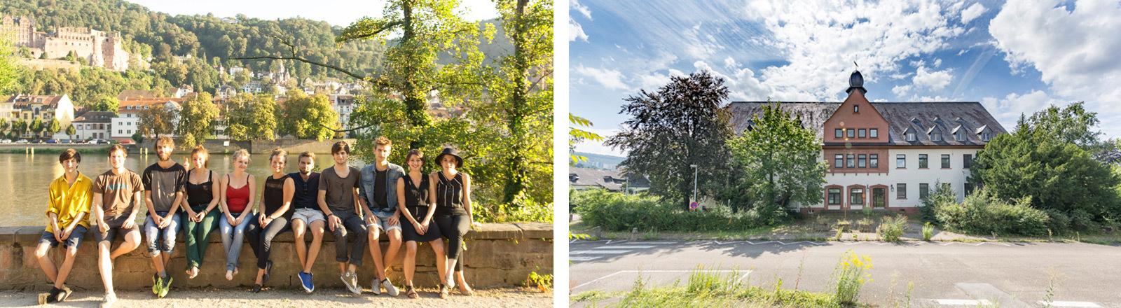Studierende aus Heidelberg planen und bauen Studentenwohnheim.