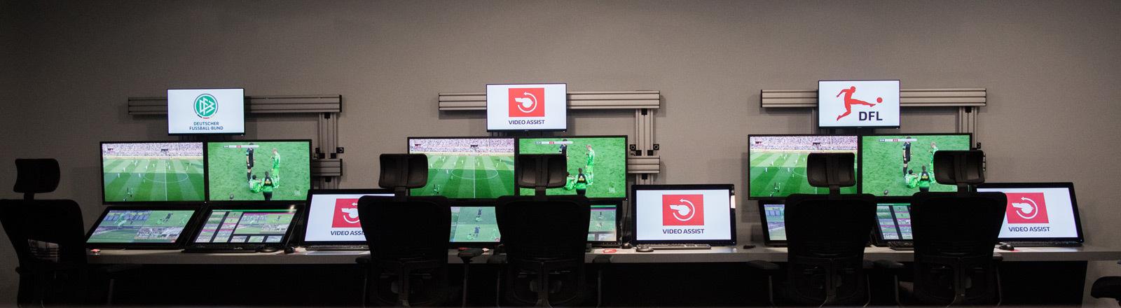 Videobeweis wird in die Bundesliga eingeführt.