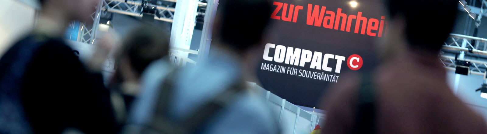 Compact-Verlag auf der Frankfurter Buchmesse 2017