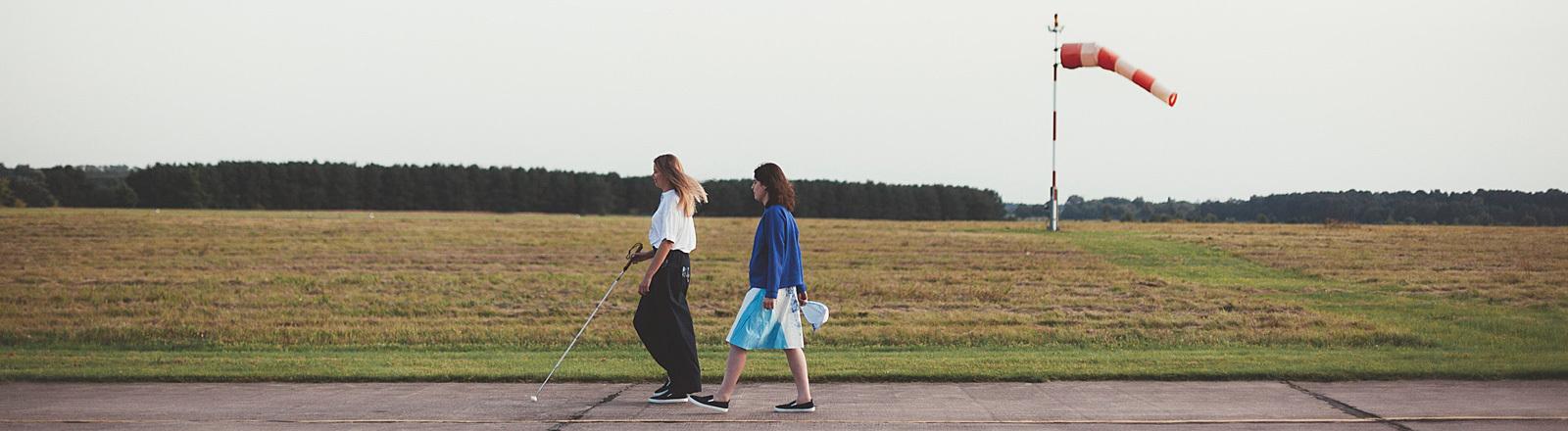 Mode für Blinde.