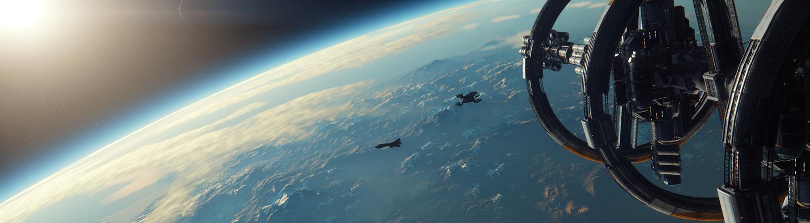 Screenshot aus dem Computerspiel Star Citizen