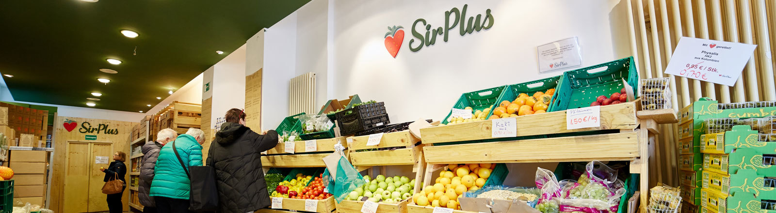 SirPlus Laden in Berlin