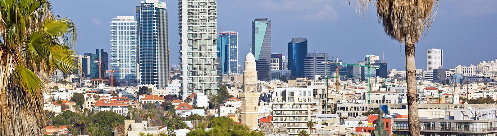 Stadtansicht von Tel Aviv.