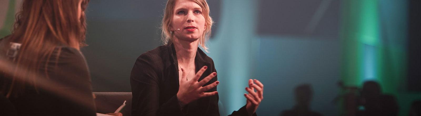 Chelsea Manning republica 2018