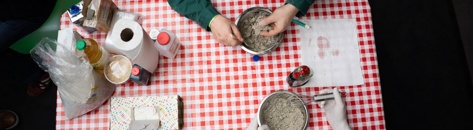 Netzbasteln kinetischer Sand Moritz Metz