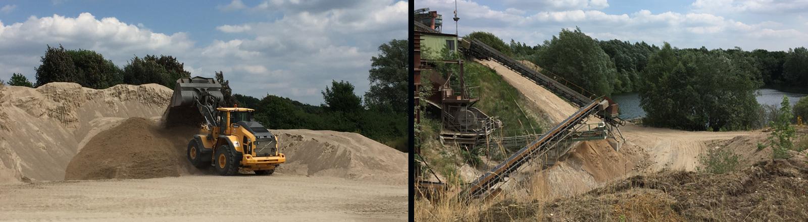 Unter anderem wegen des Baubooms und strenger Naturschutzregeln herrscht in Deutschland Sandmangel.