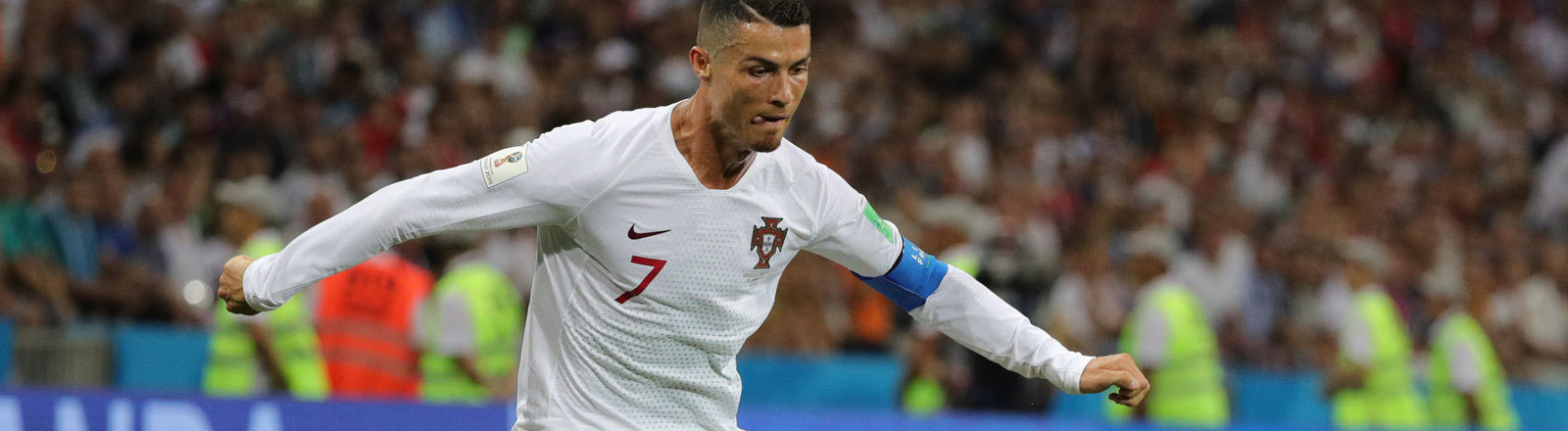 Christian Ronaldo Fifa WM 2018 Russland Spiel gegen Uruguay