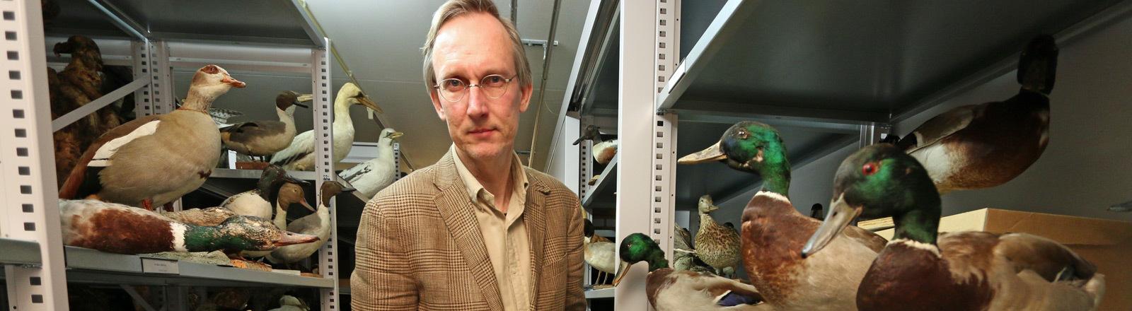Naturhistoriker Kees Moeliker.
