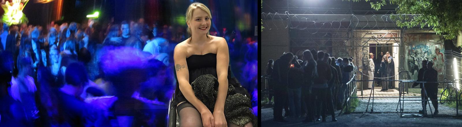 Henrike Möller sitzt im Rollstuhl und geht gerne feiern.