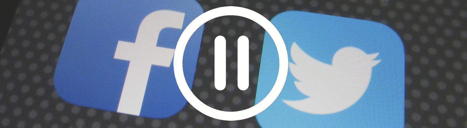 Symbolbild: Pause für Social Media