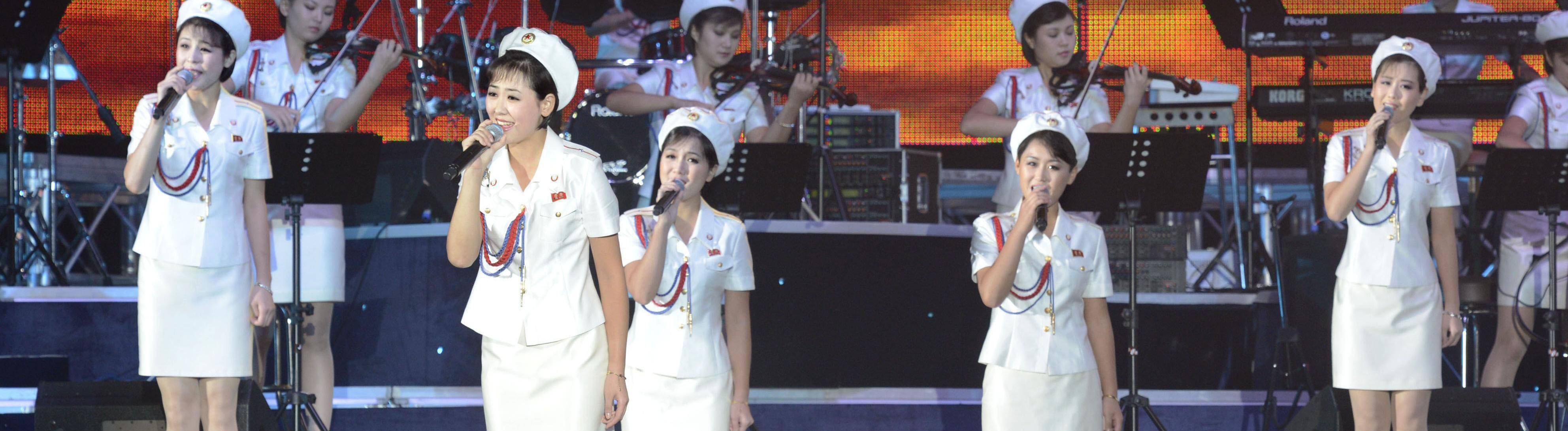Moranbong Band.