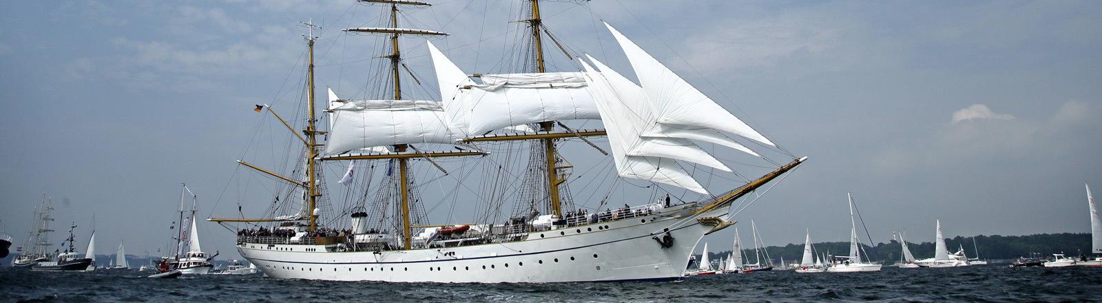 Gorch Fock: Segelschiff für die Ausbildung bei der Marine