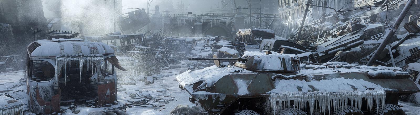 """Screenshot aus """"Metro Exodus"""""""