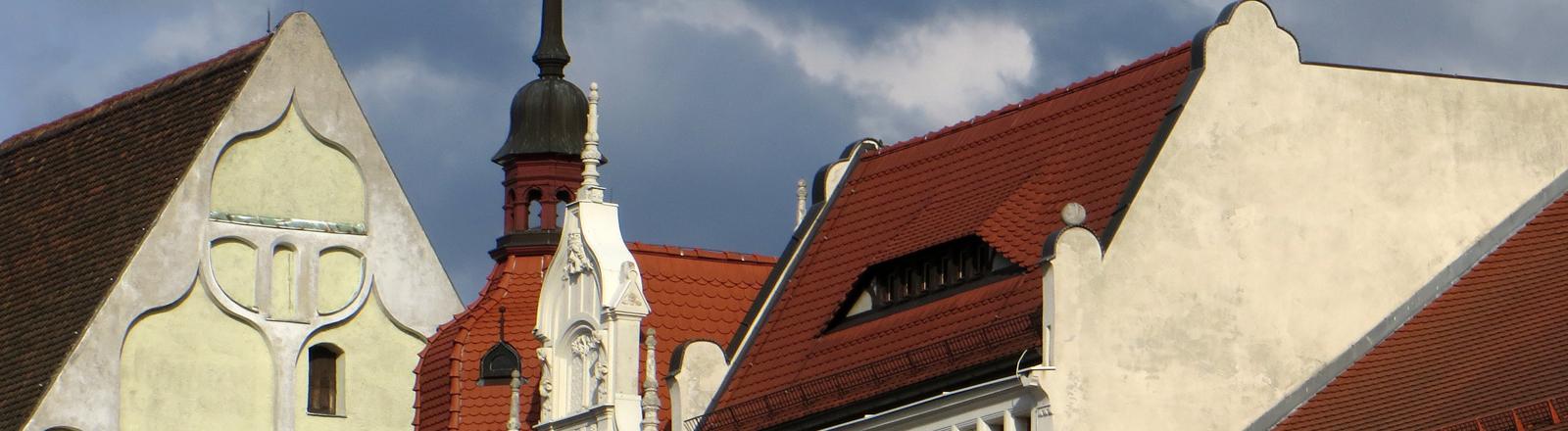 Fassaden von Häusern in Görlitz