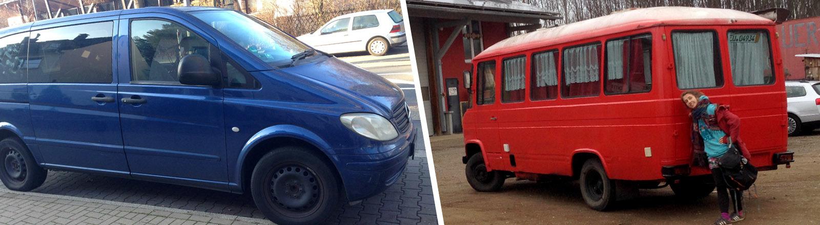 Reporterin Julia Demming verkauft ihren alten Diesel, um sich einen noch älteren Diesel-Transporter zuzulegen.
