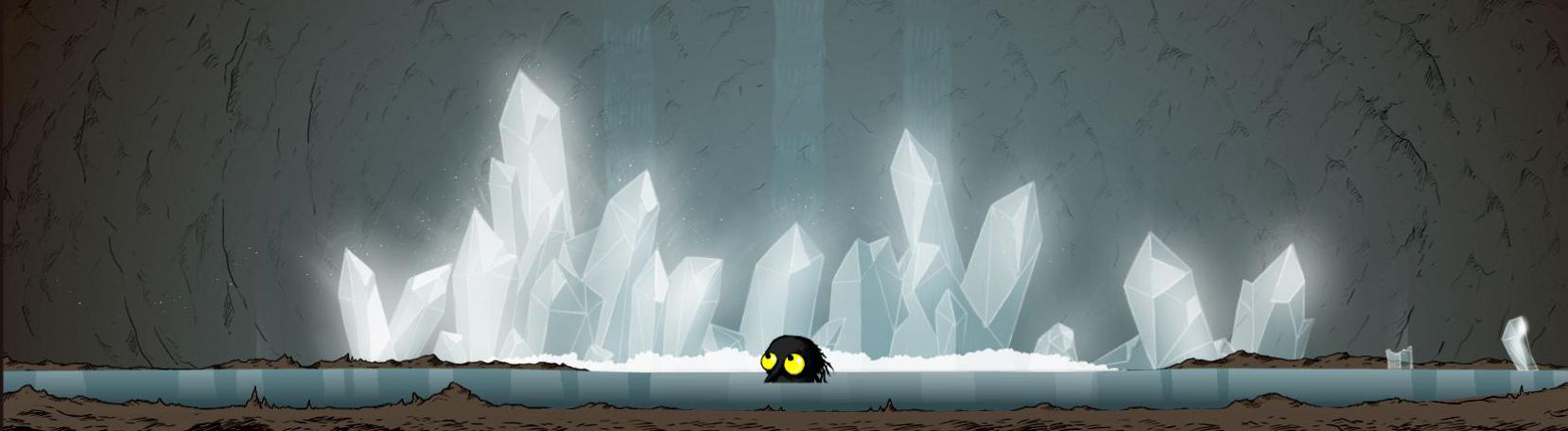 "Ein Screenshot aus dem Game ""The Longing"""