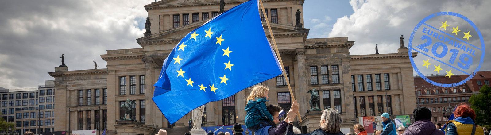 Demo von Pulse for Europe in Berlin 5.5.19