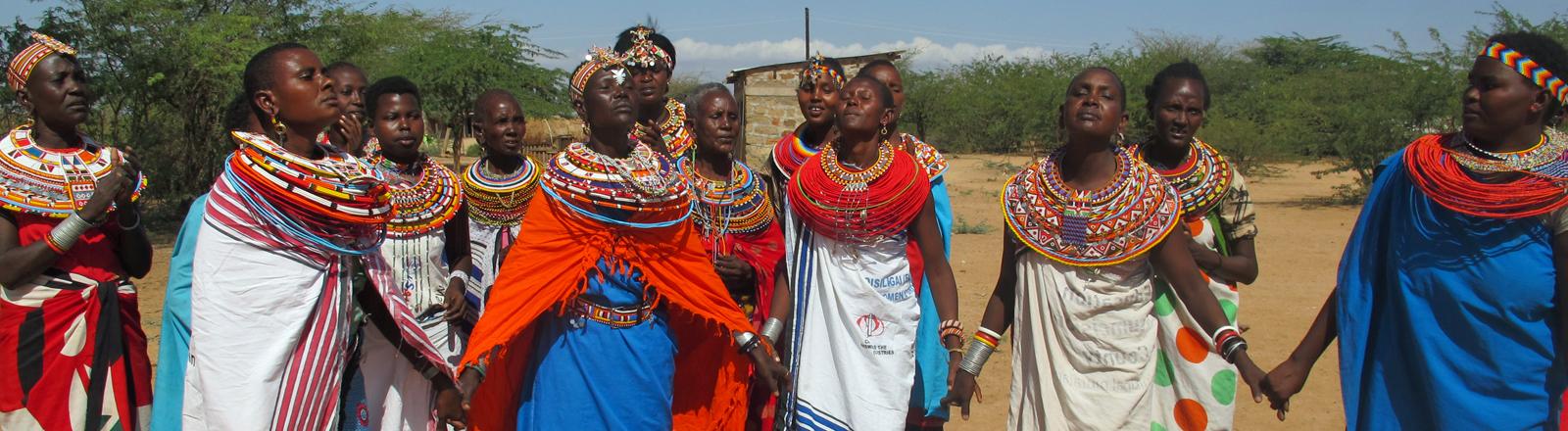 Die Frauen von Umoja.