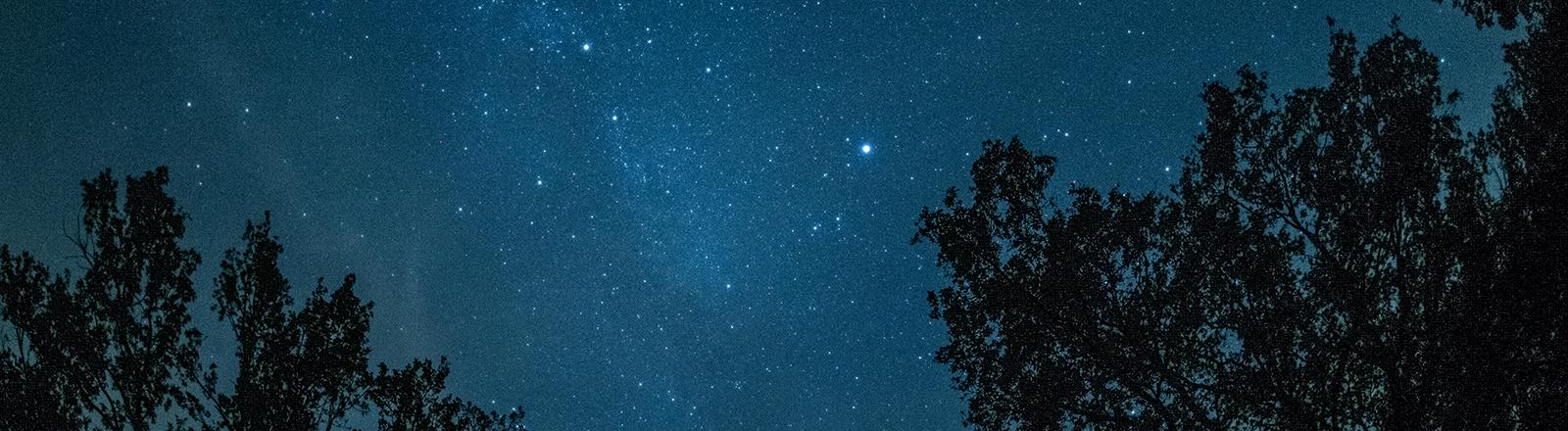 Sternenhimmel.
