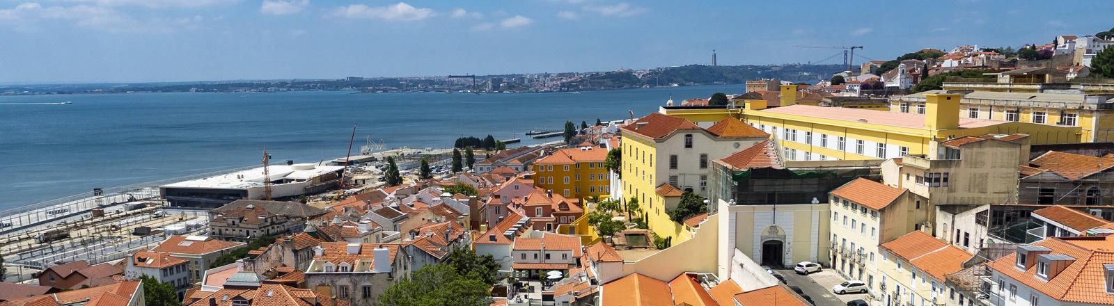 Stadtansicht Lissabon in Portugal