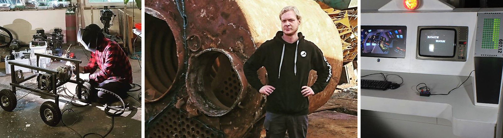 Der selbsternannte Post-Apocalyptic-Inventor Gerolf Kebernik