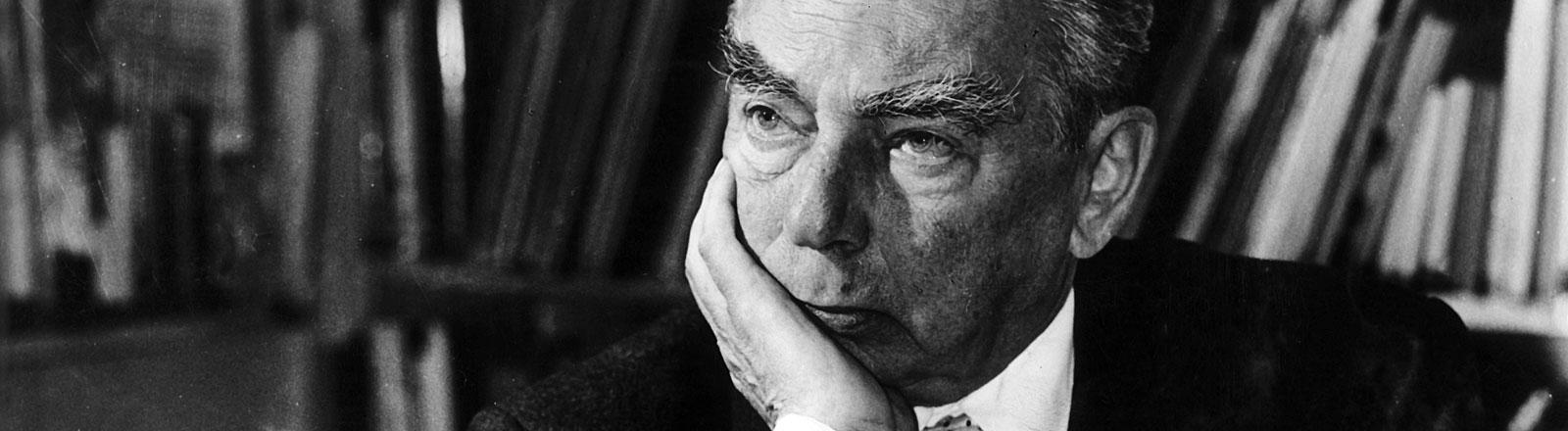 Der Schriftsteller Erich Kästner