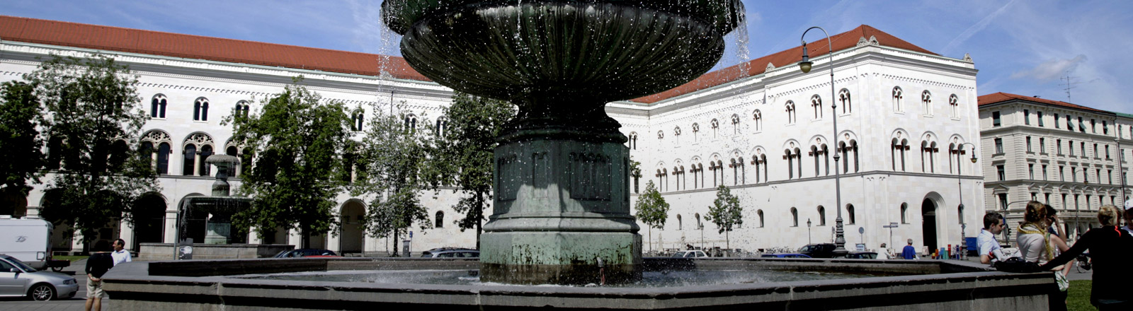 Hauptgebäude der Ludwig-Maximilians-Universität München
