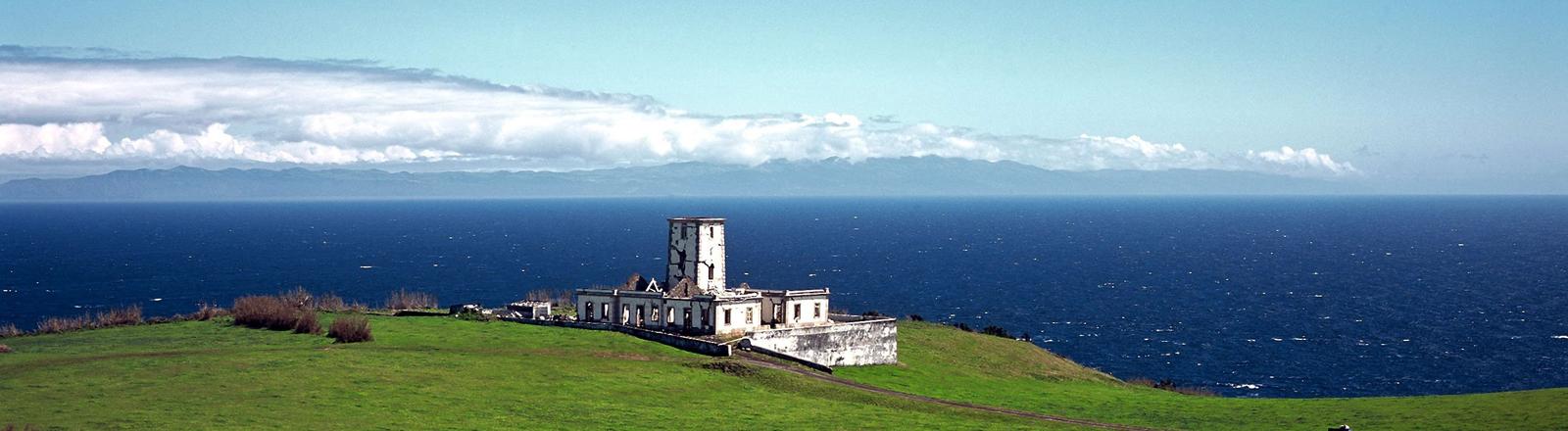 Die Azoren-Insel Faial. Da war Anky Brandt Wale retten. Tapfertyp