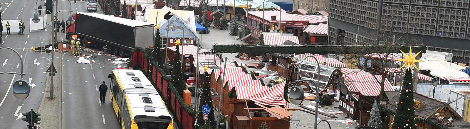 Weihnachtsmarkt in Berlin