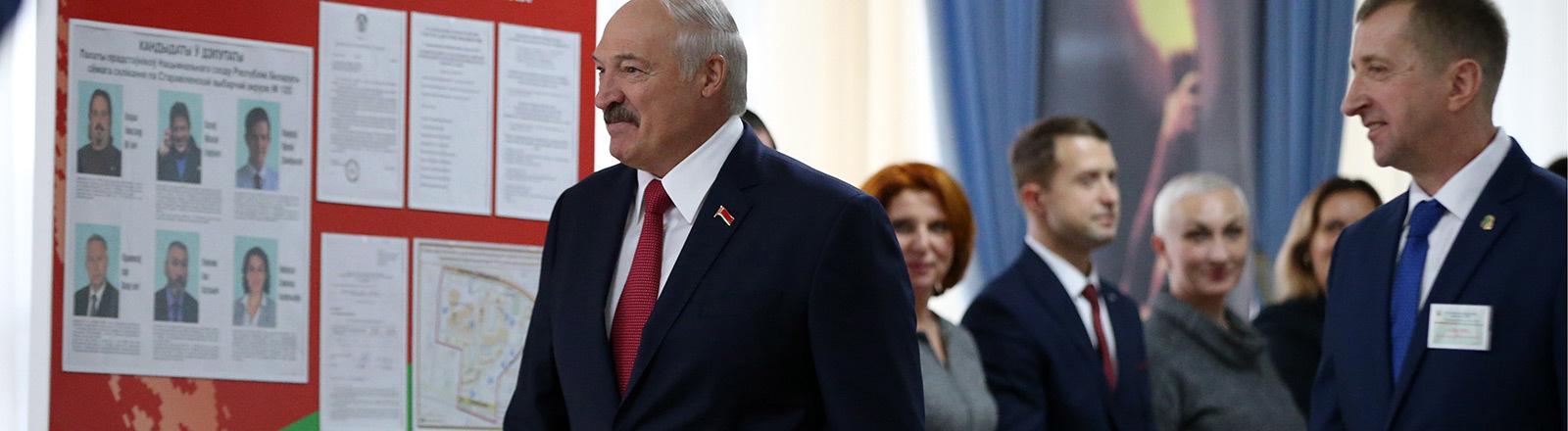 Weißrusslands Präsident Aljaksandr Lukaschenka