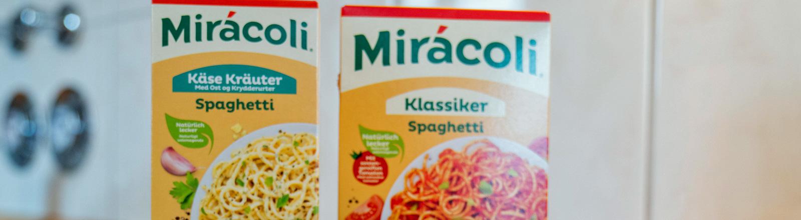 Zwei Packungen Miracoli.