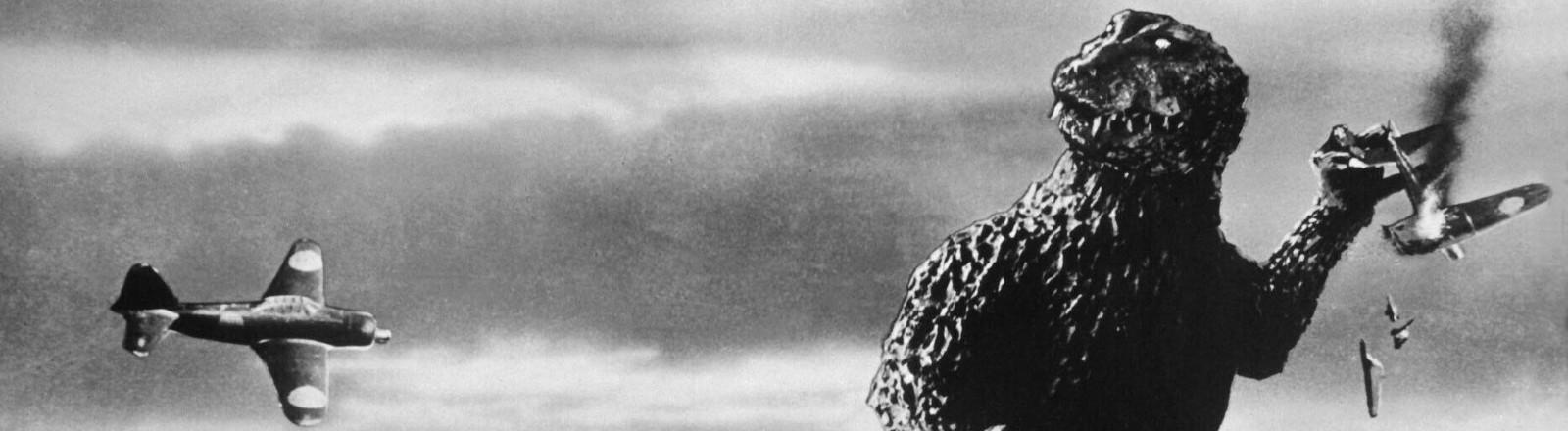 Ausschnitt aus dem Godzilla-Film 1954.