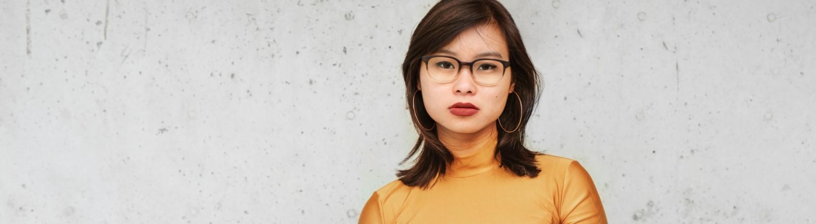 Porträt der Journalistin Nhi Le