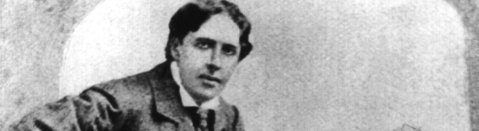 Der irisch-britische Schriftsteller Oscar Wilde