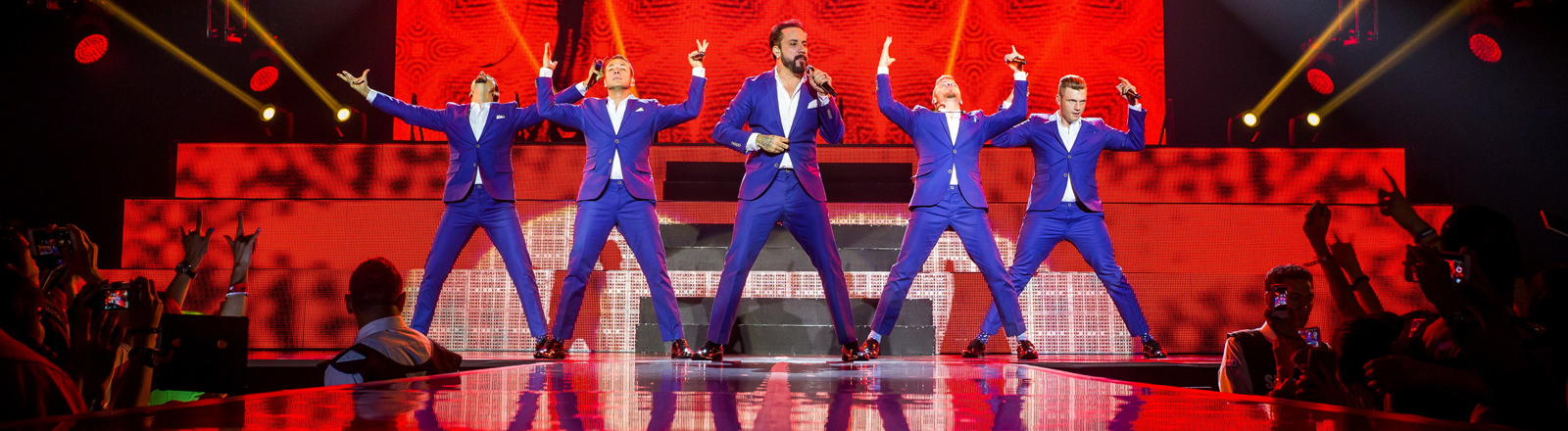 Revival der Backstreet Boys, Konzert in Macau, China