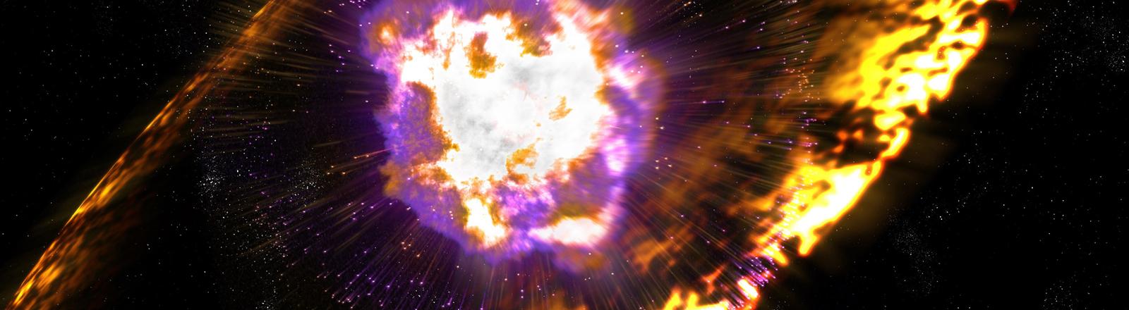 Supernova (Symbolbild)