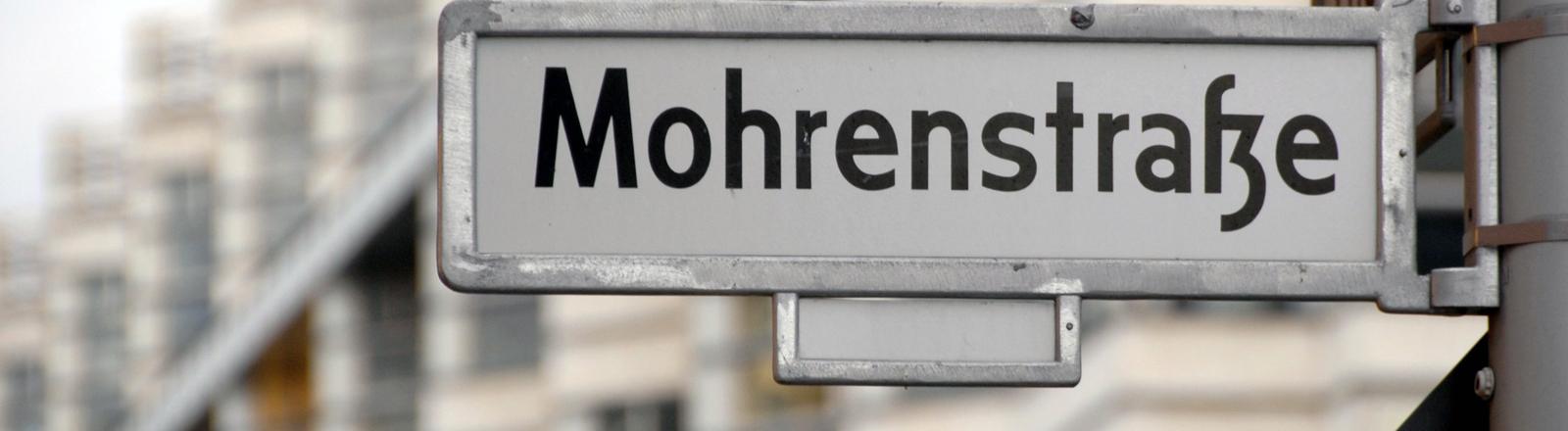 Straßenschjld der Mohrenstraße