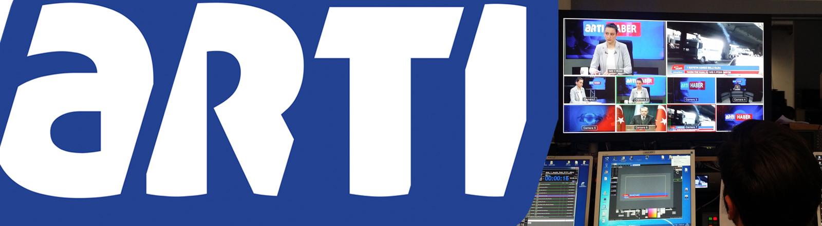 Logo von ArtiMedia und Fernsehregie